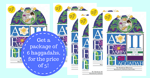 BUY 5 GET 1 FREE  - A Family Haggadah II (Revised Edition)