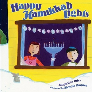 Happy Hanukkah Lights (Board Book)