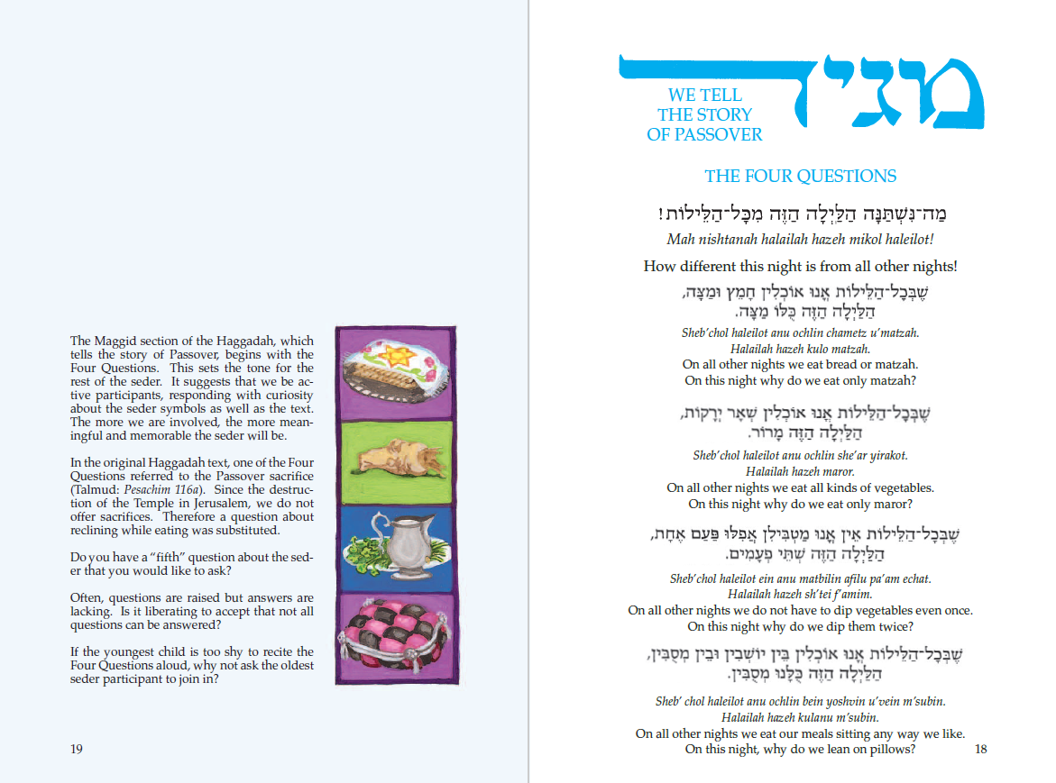 Choosing the Right Haggadah for Your Seder