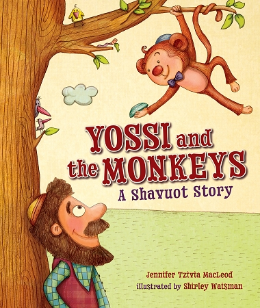 Yossi and the Monkeys Cover