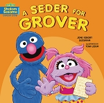 A Seder for Grover  (Board Book)