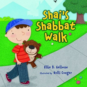 Shai's Shabbat Walk (Board Book)