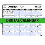 Digital Jewish Calendar 5780 (Downloadable Calendar)