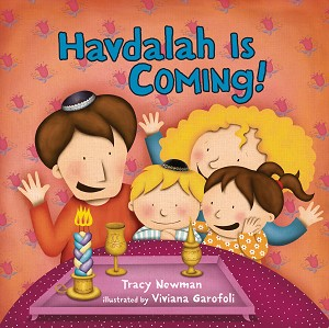 Havdalah is Coming! - (Board Book)