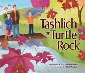 Tashlich at Turtle Rock