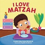 I Love Matzah - (Board Book)