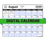 Digital Jewish Calendar 5781 (Downloadable Calendar)